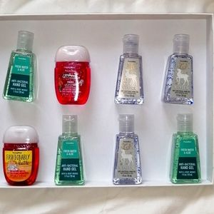 Bath and body Works 8 pieces